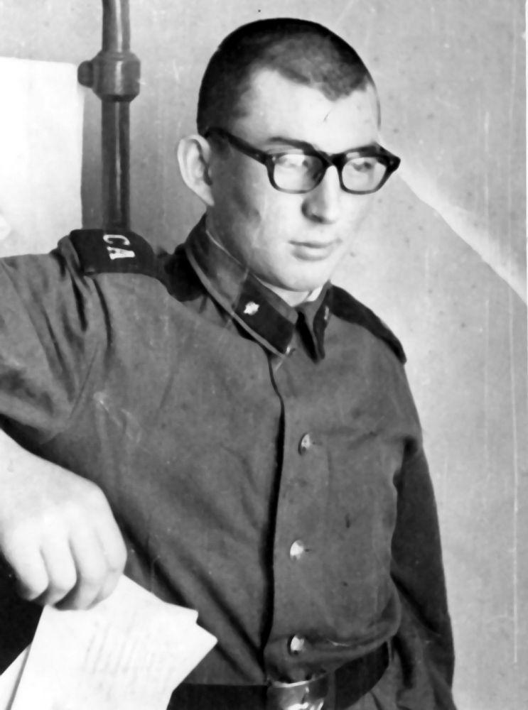 Автор во время прохождения армейской службы 1974 г.