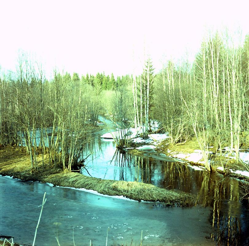 Весенний разлив Ворчалы