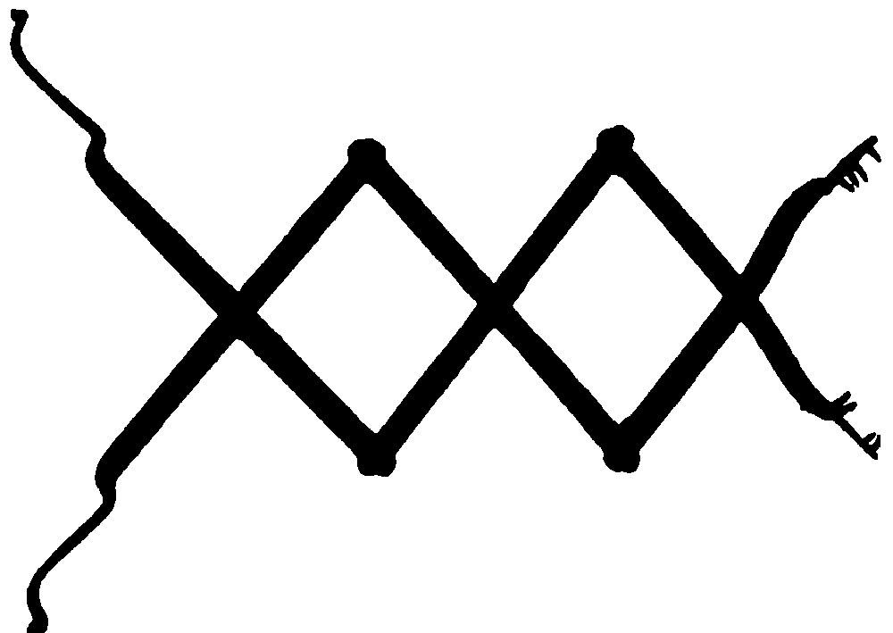 Рис. 12. Изображение древнего ритуала с участием собак в качестве жертвы