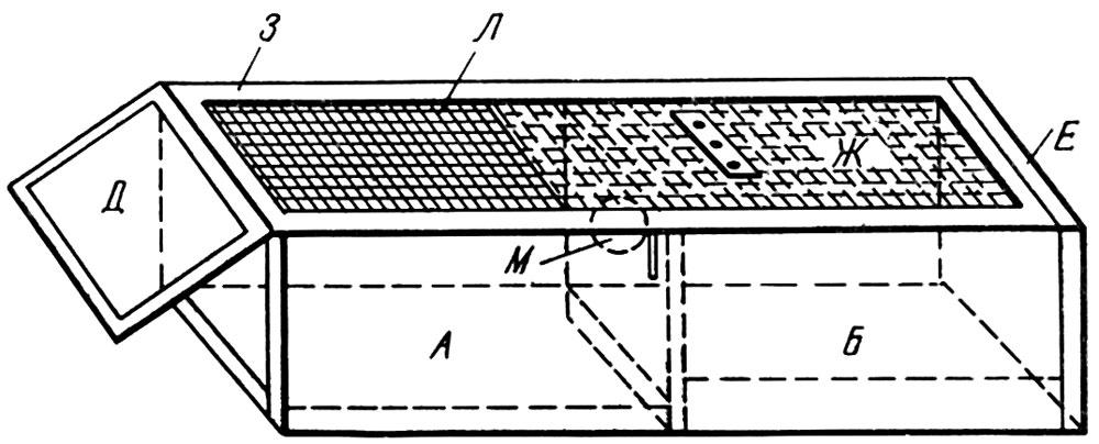 Транспортная клетка для соболя