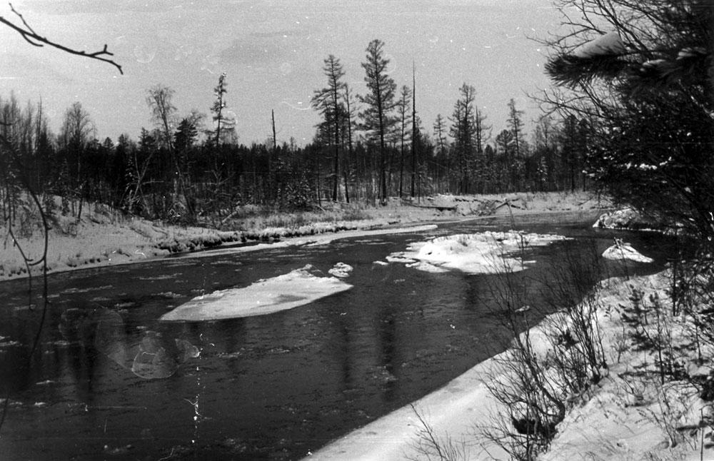 Река Елогуй — приток Енисея
