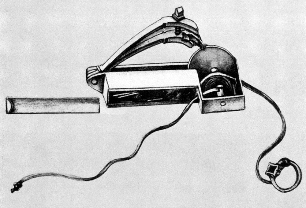 Колёсная зажигалка — прообраз колёсного замка