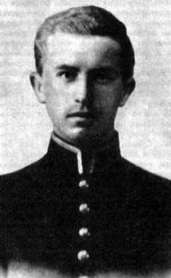 В.И.Белоусов в студенческие годы