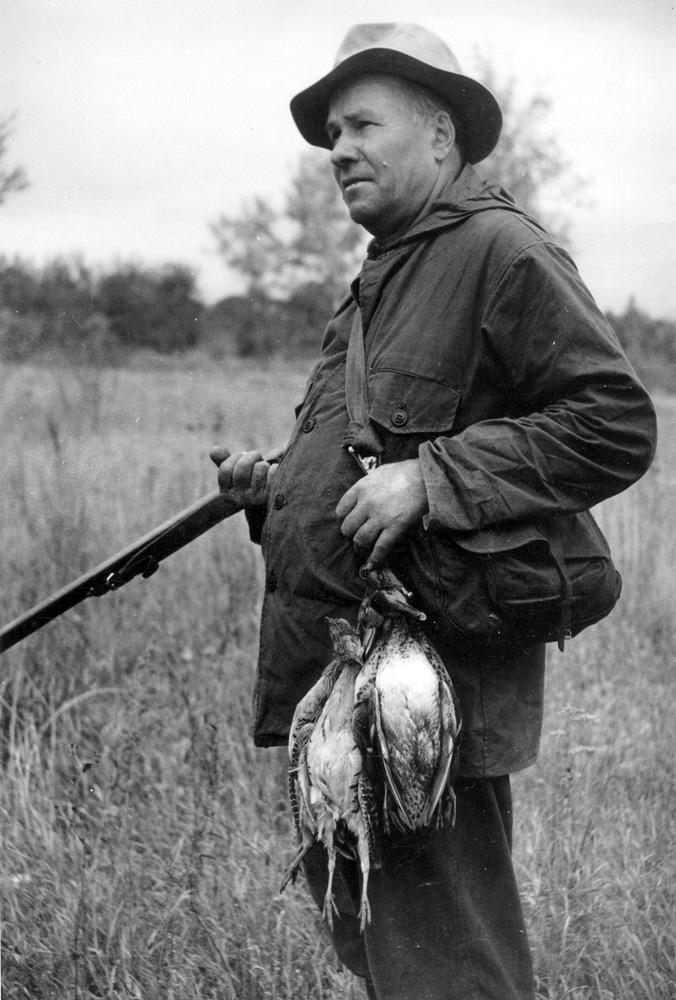 Ефим Николаевич Пермитин (1896—1971). Снимок 1957 г.