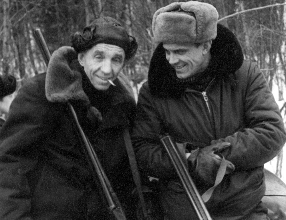 Верные друзья: П. Кученков и А. Матиченко