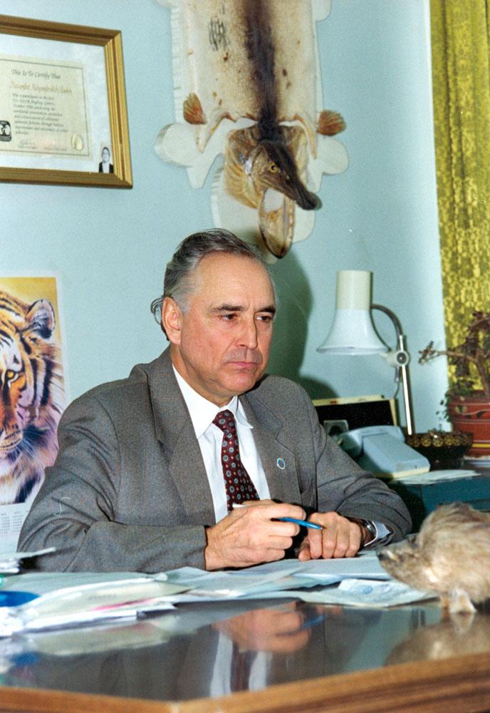 А. А. Клушин — заместитель председателя ассоциации «Росохотрыболовсоюз»