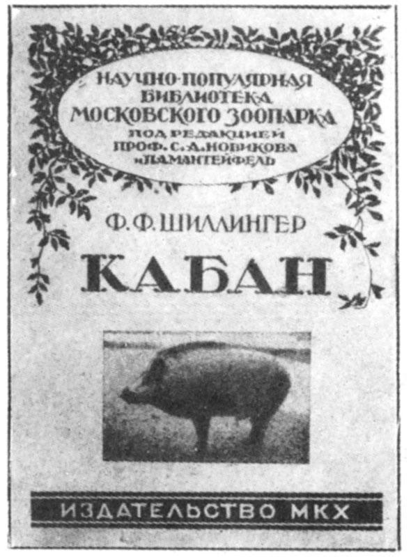 Обложка книги Франца Шиллингера