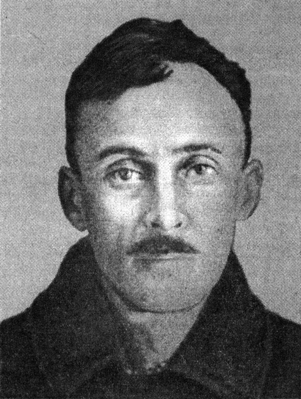 В. С. Трубецкой. 1934 г. Внутренняя тюрьма «Лубянка». Снимок из Личного дела
