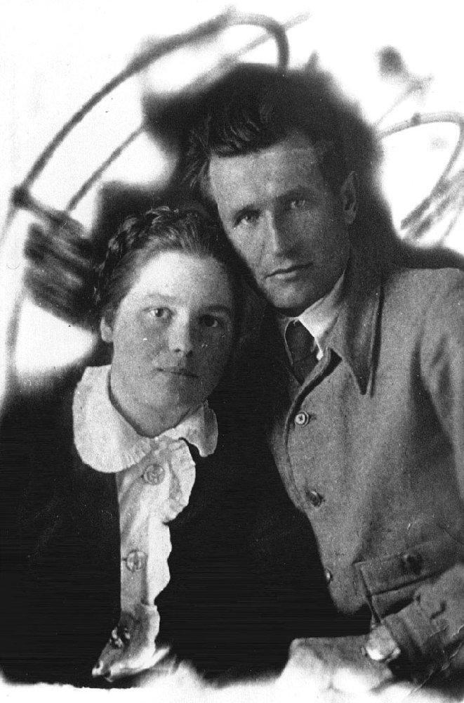 С женой Марией. 1938 г.