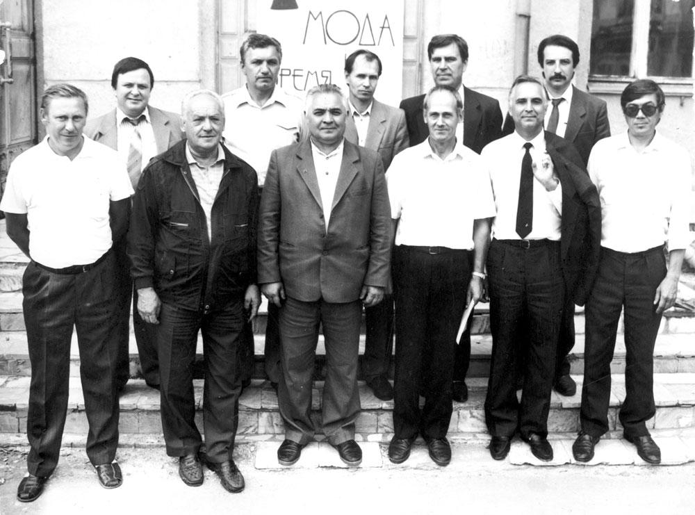 Участники семинара по дичеразведению в г. Кургане (1990-е годы)