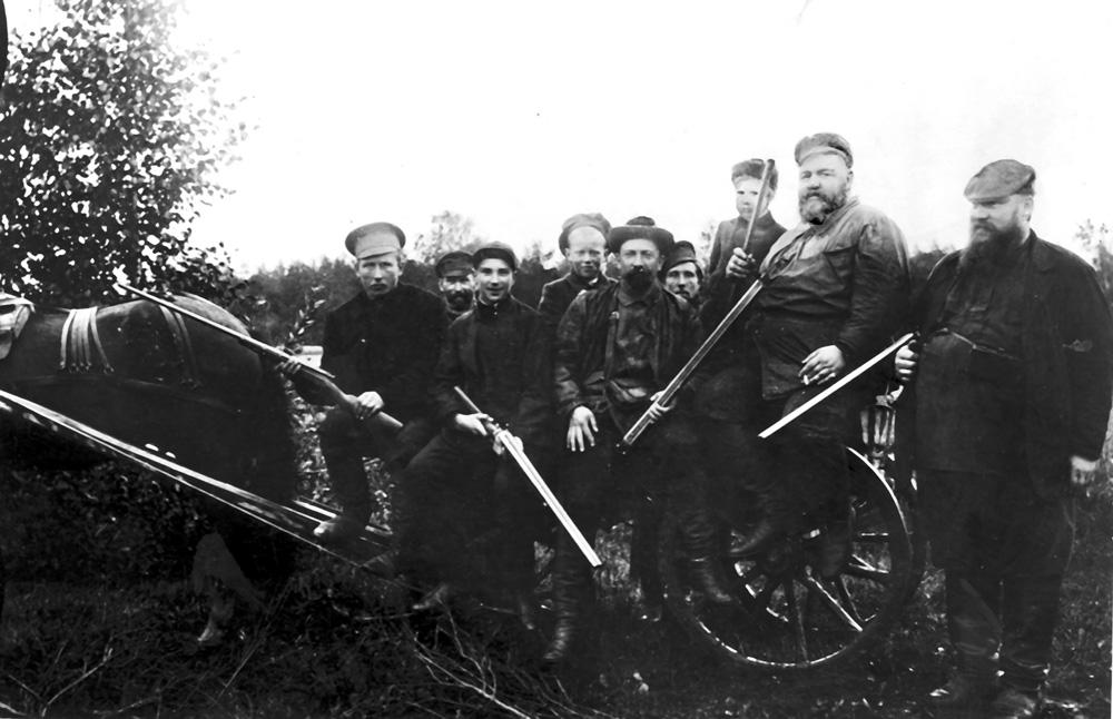 Охота в Лебяжьем (1907 г.)