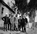 Великий князь Сергей Михайлович, Михаил Владимирович Андреевский и др. на охоте в Караязах в 1902 г.