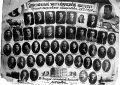 Выпуск биологов-охотоведов 1938 г. К.А.Ястребов, староста группы, 5-й справа в 3-м ряду сверху